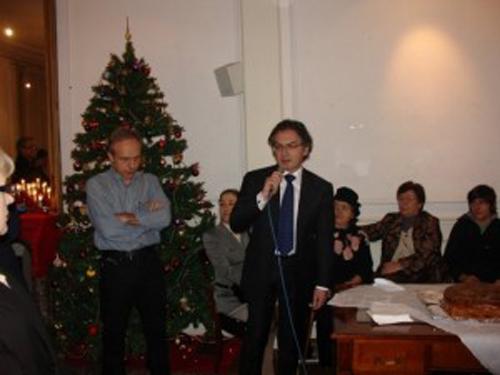 Le Premier Conseiller de l'Ambassade de Grèce en France Monsieur Baltas