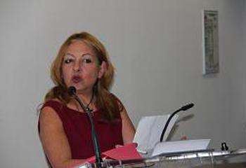 Madame Evelyne Janvier Secretaire de l'association Prix Hellenica