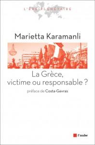 Le livre de Marietta Karamanli préfacé par Costa-Gavras